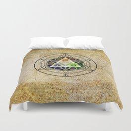 zelda triforce Duvet Cover