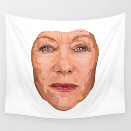 Shaping the Stars - Helen Mirren Wall Tapestry