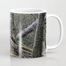 Fallen tree in Norway Coffee Mug