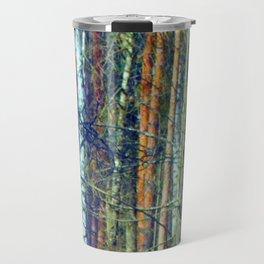 birch forest Travel Mug