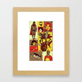 Random_things02.jpg Framed Art Print