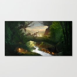 Runner Canvas Print