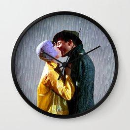 Singin' in the Rain - Slate Wall Clock