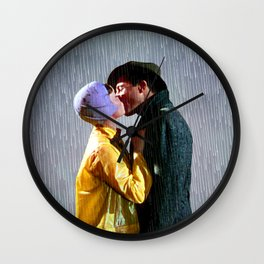 Singin' in the Rain - Slate Wall Clock