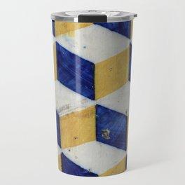 Portuguese tiles pattern Travel Mug