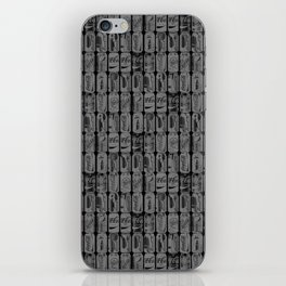 Blk Cans #2 iPhone Skin