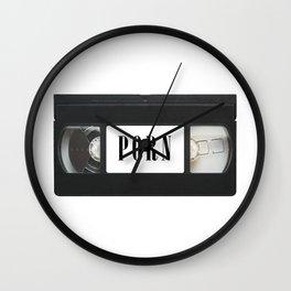 Porn VHS Wall Clock
