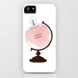 Red Perfume Globus iPhone Case