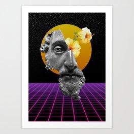 Marcus Aurelius VaporWare Art Print