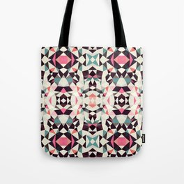 Retro Light Tribal Tote Bag