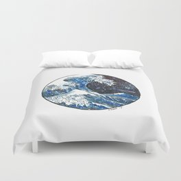 The Midnight Wave Duvet Cover