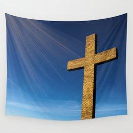 Heaven's Cross Wall Tapestry