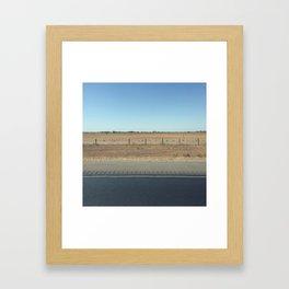 Highway 99 Framed Art Print