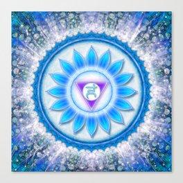 Vishuddha Chakra - Throat Chakra Canvas Print