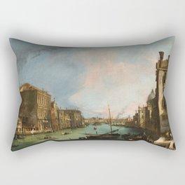 Canaletto Bernardo Bellotto - The Grand Canal In Venice Rectangular Pillow