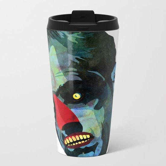 horror Metal Travel Mug
