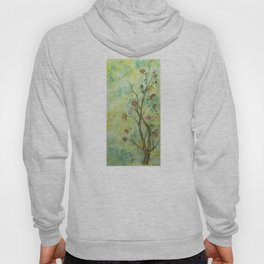 Branch with flowers Hoody