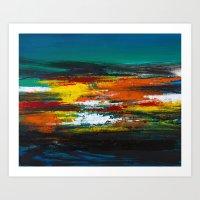 Colors of Imagination Art Print