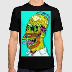 Monster Homer Mens Fitted Tee Black MEDIUM