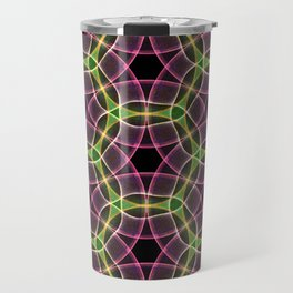 Abstract Circles Travel Mug