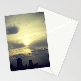 sun post rain Stationery Cards