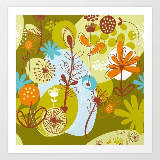 Abstract Design IV Art Print