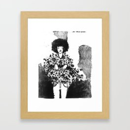 We won´t be friends Framed Art Print