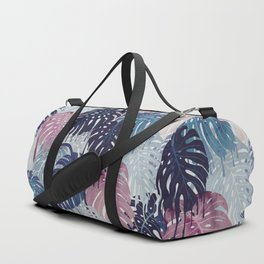 Monstera Melt Duffle Bag