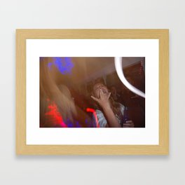 A Night In Darkness Framed Art Print