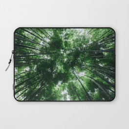 Bamboo Forest, Kyoto, Japan Laptop Sleeve