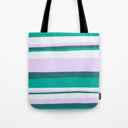 Hermosa, sunset stripes Tote Bag