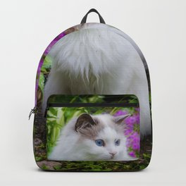 Garden Cat Backpack