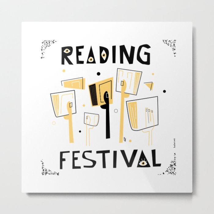 Reading Festival Metal Print