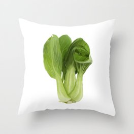Baby Bok Choy Throw Pillow
