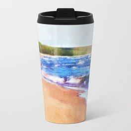 Colors of Water Travel Mug