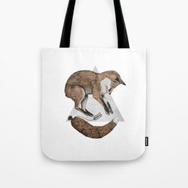 The Fox Who Lost His Tail Tote Bag