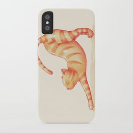 Yoga Cat iPhone Case