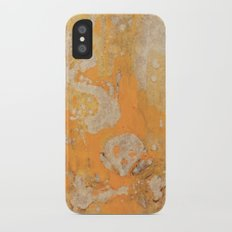 Fire Skull I Part I iPhone X Slim Case