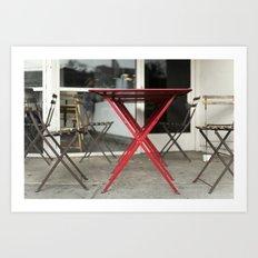 cafe café Art Print