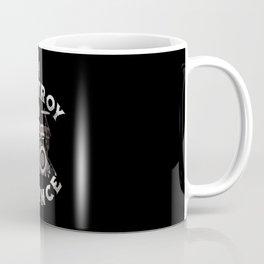 I Destroy Silence - Drummer Drums Drumsticks Music Coffee Mug
