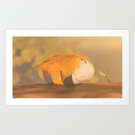 Autumn Coz Art Print