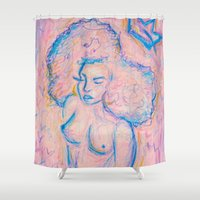 crown Shower Curtains featuring Crown. by Chanel James