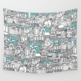 NOTTINGHAM BLUE Wall Tapestry