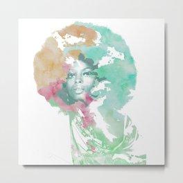 Afro Metal Print