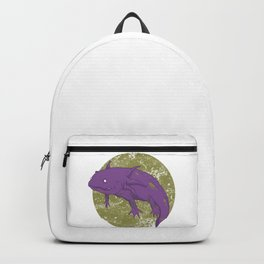 Axolotl Gothic Goth Water Aquarium Pet Animal Gift Backpack