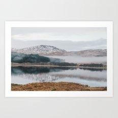Glencoe, Scotland Art Print