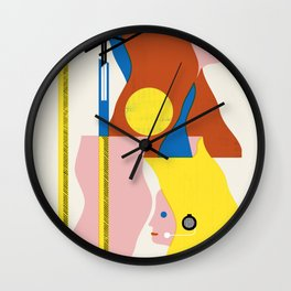 SPACE DAMES Wall Clock