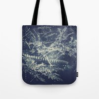 blueprint Tote Bags featuring Blueprint by Jesse Rather