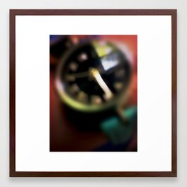Blurred Time Framed Art Print