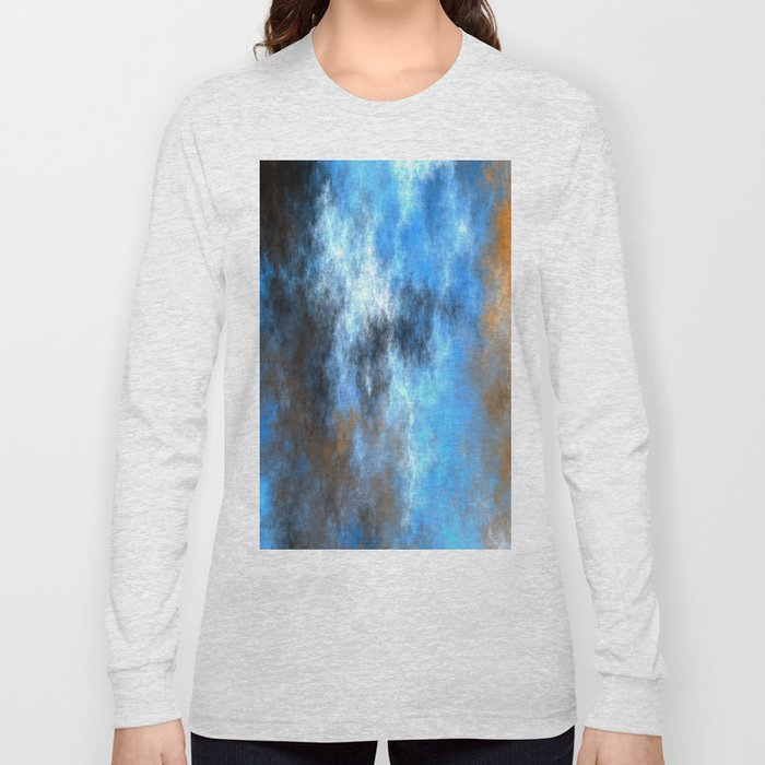 Storm and Lightning   (A7 B0229) Long Sleeve T-shirt